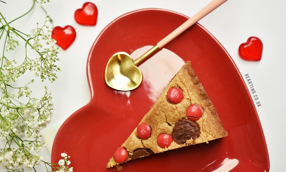 Baking   Giant Peanut Butter Valentine's Cookie