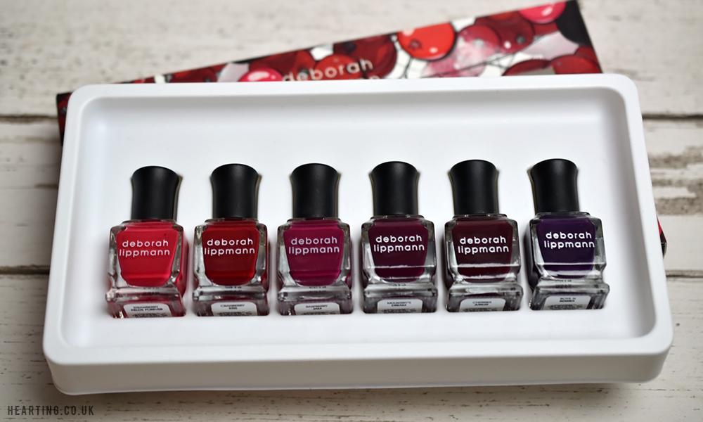 Deborah Lippmann Very Berry Nail Polish Set