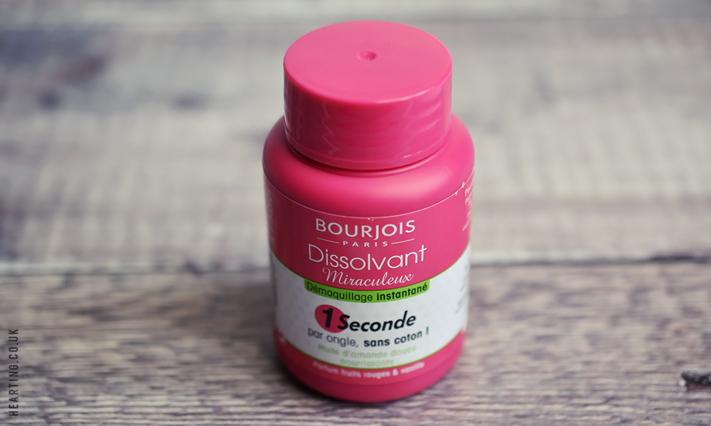Little Treats #7 | Bourjois Magic 1 Second Nail Polish Remover