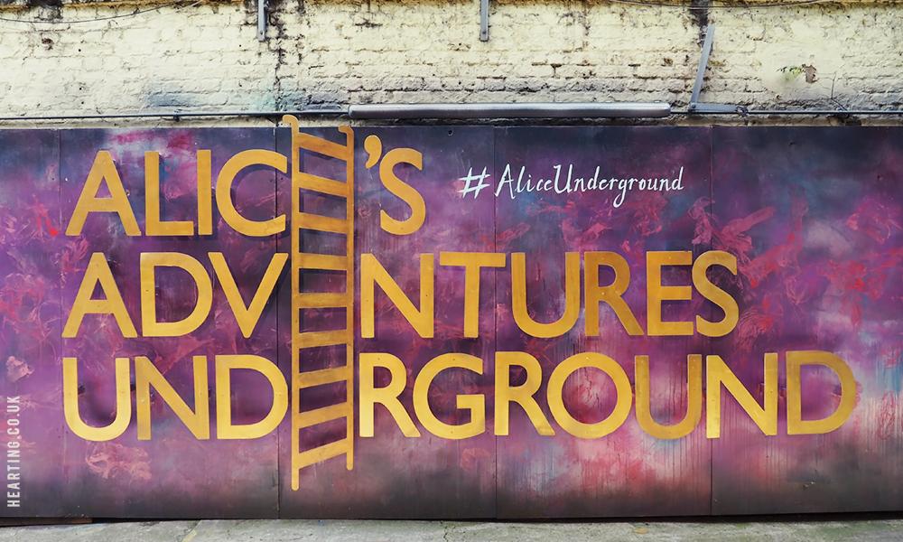Experiencing Alice's Adventures Underground