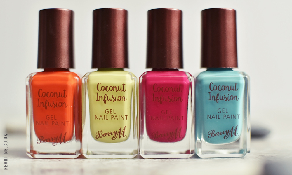 Barry M Coconut Infusion Summer Collection 2017