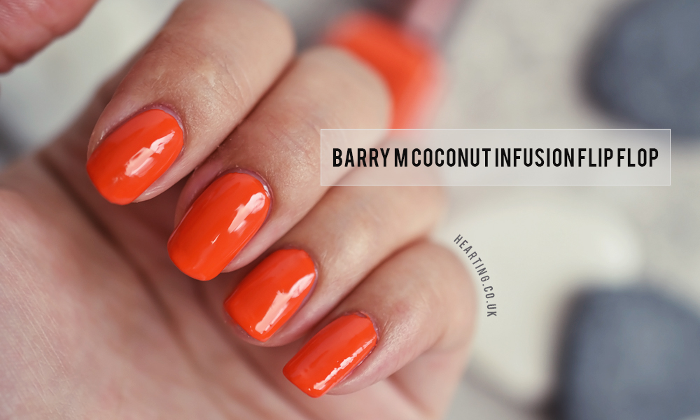 Barry M Coconut Infusion Flip Flop