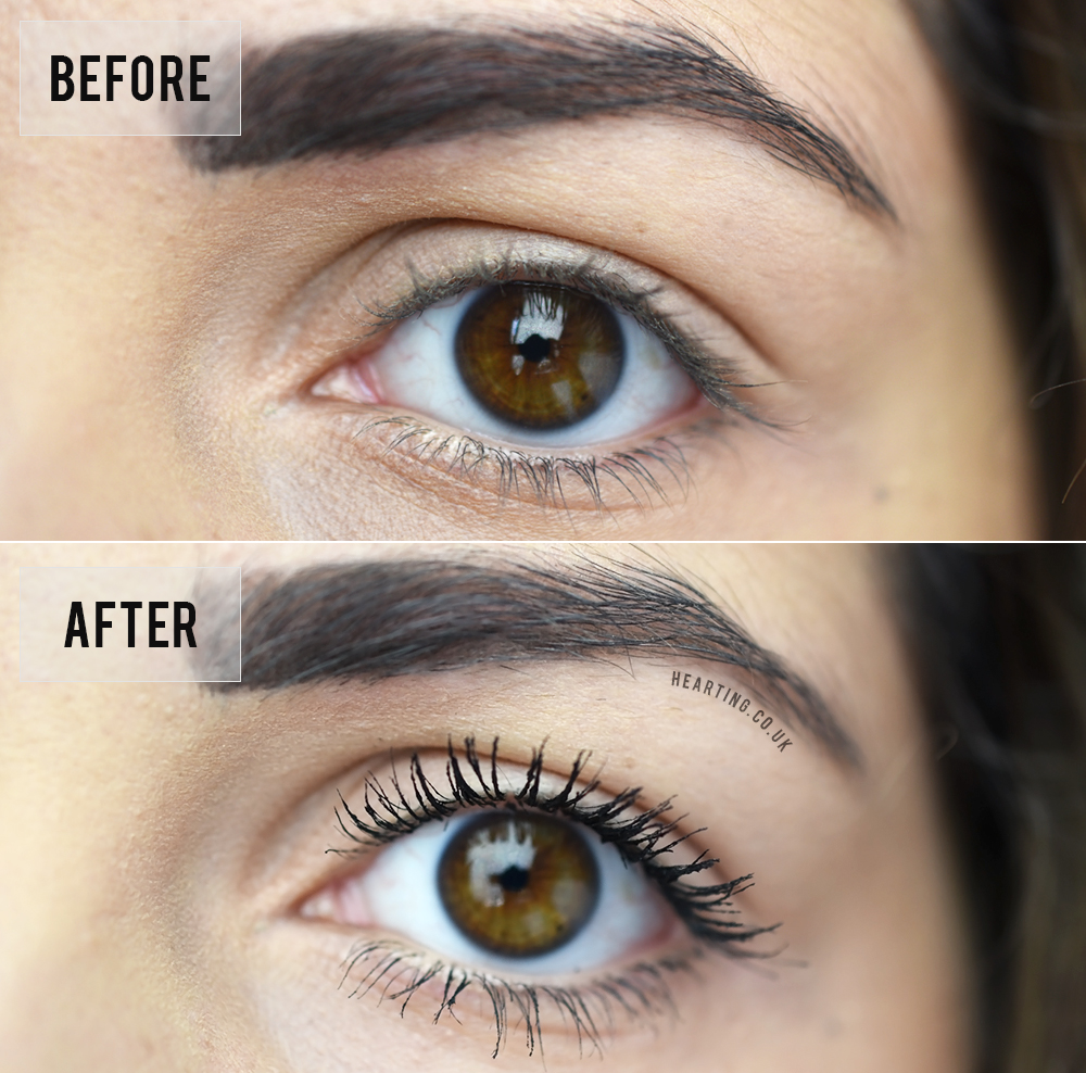 Mascara Monday #3 |  It Cosmetics Superhero Mascara - Before and After Photographs
