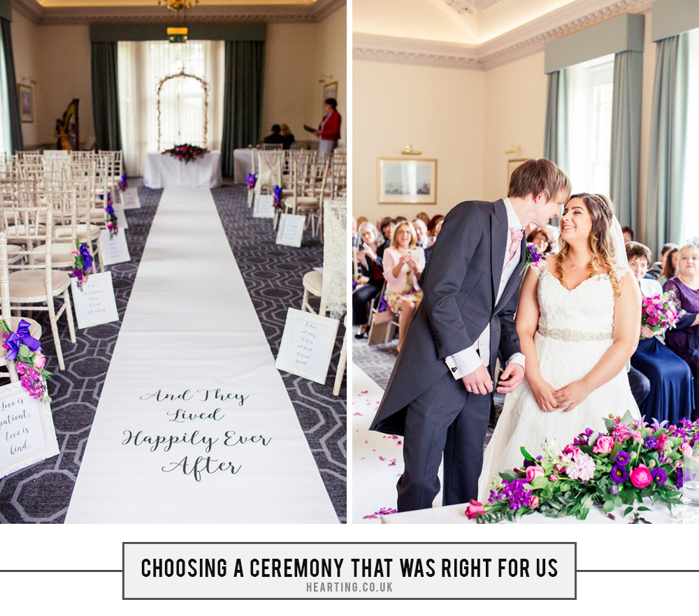 Our Wedding Story | Planning a ceremony that was right for us