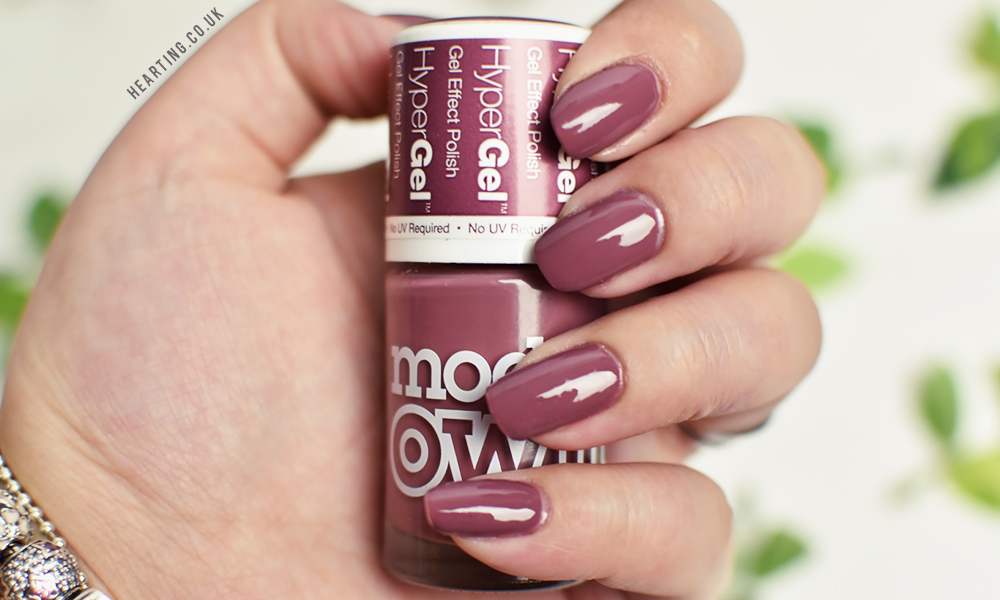 Nails #90 | Models Own Hypergel Twilight Collection Shade Heather