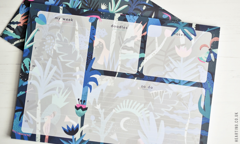 Papergang #19 | Unboxing and first impressions of my September Papergang Stationery Subscription Box featuring illustrator Natasha Durley