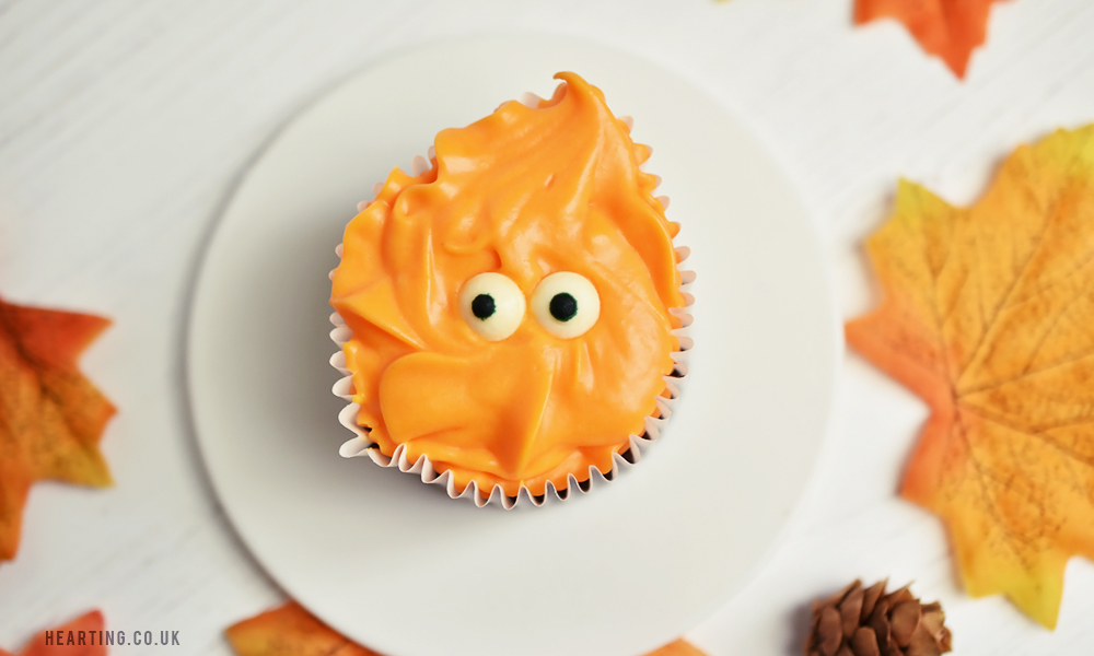 Chocolate Orange Cupcakes |Halloween Monster Cupcakes