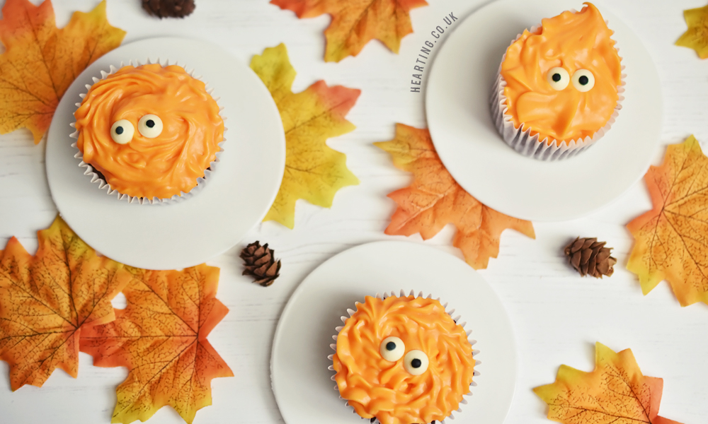 Chocolate Orange Cupcakes | Halloween Monster Cupcakes