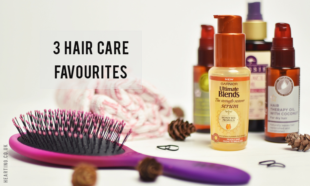3 Hair Care Favourites
