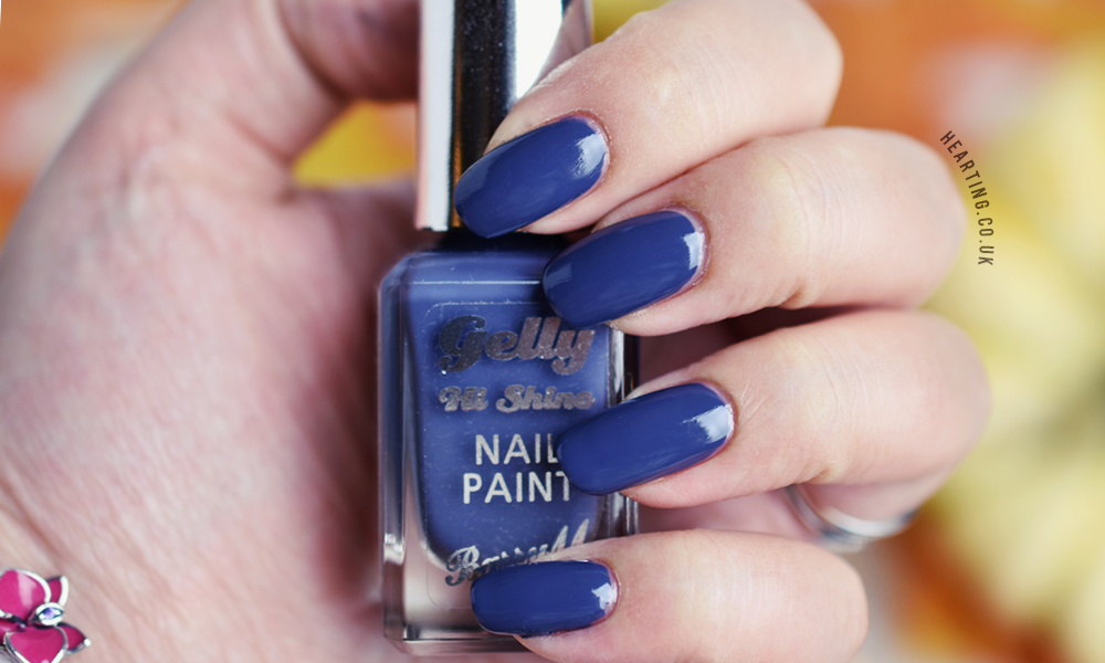 Barry M Gelly Nail Paint Blue Jade