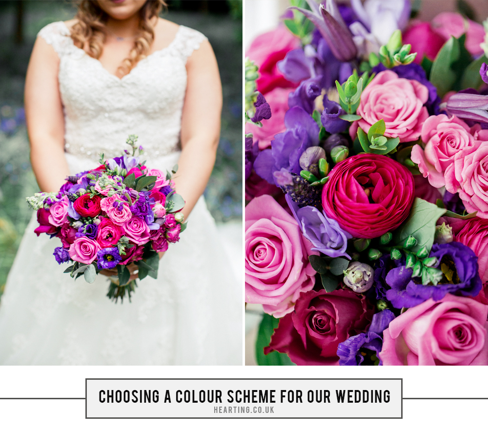 Our Wedding Story | Choosing A Colour Scheme For Our Wedding