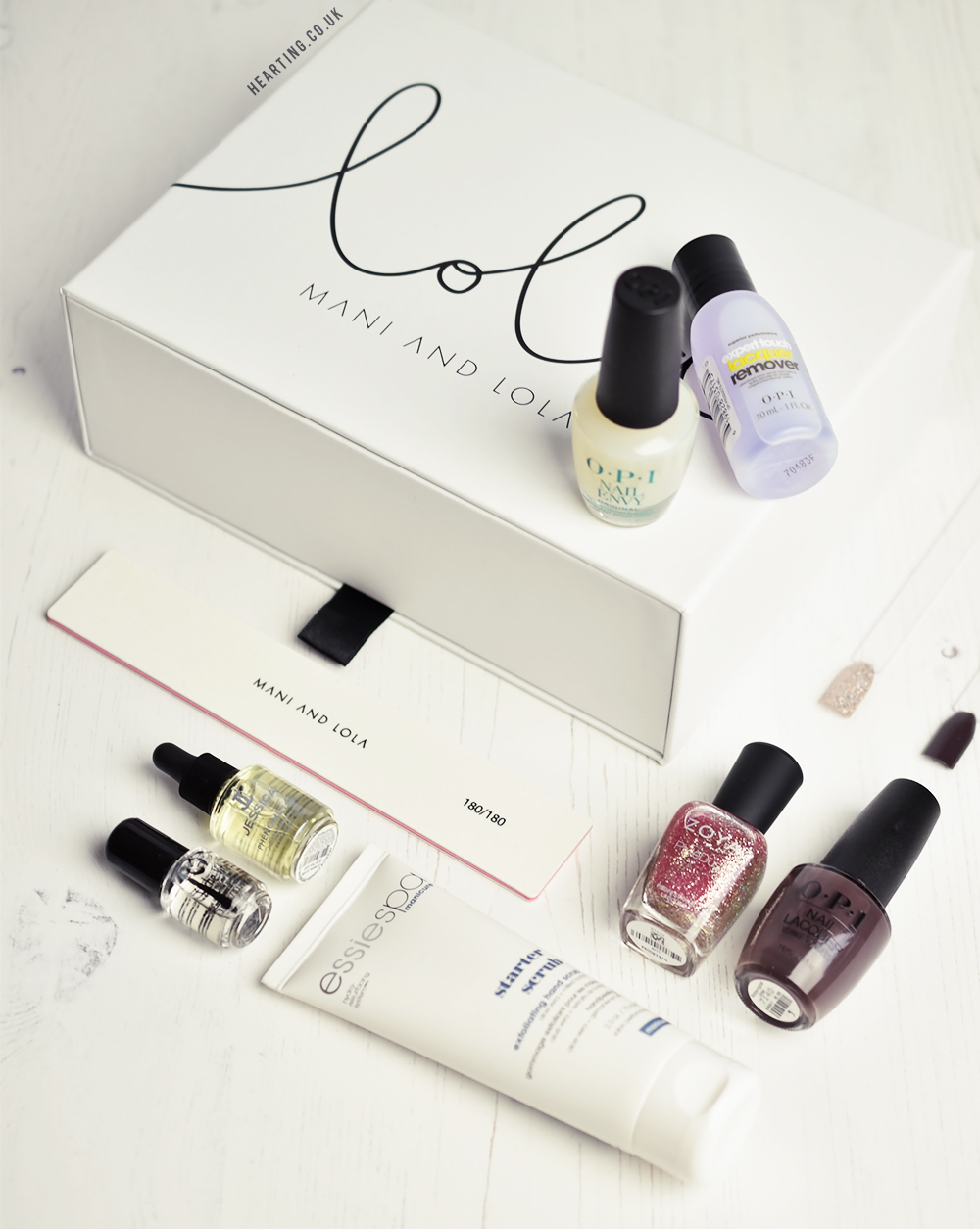 Mani and Lola November Edit #1 Nail Polish Subscription Box
