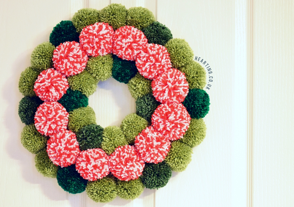 3 Christmas Pom Pom Creations | Epic Christmas Wreath