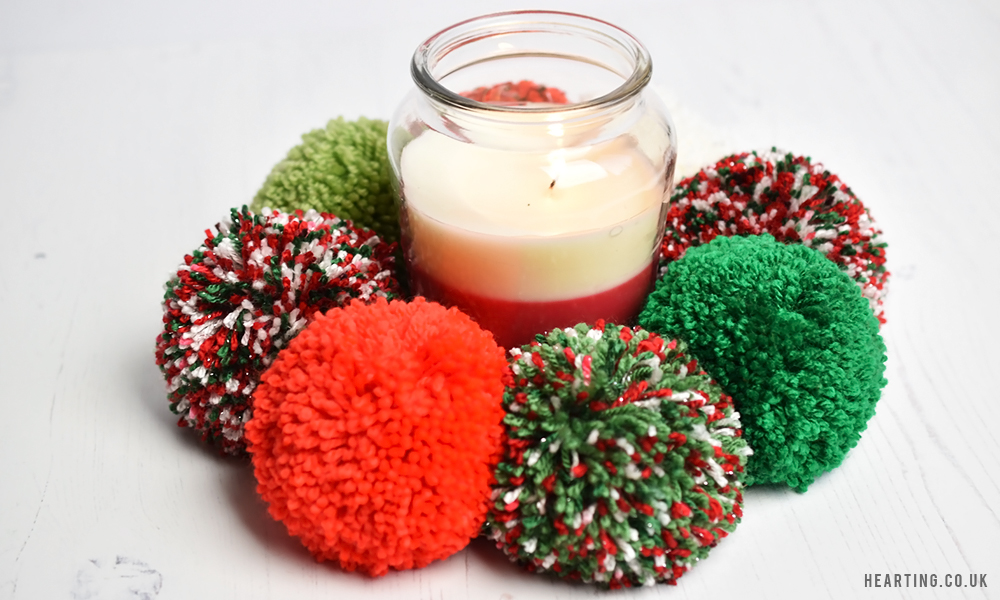 3 Christmas Pom Pom Creations | Christmas Wreath Centrepiece