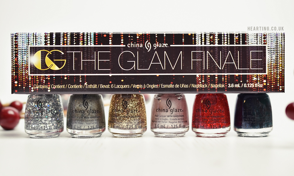 China Glaze The Glam Finale Nail Polish Set