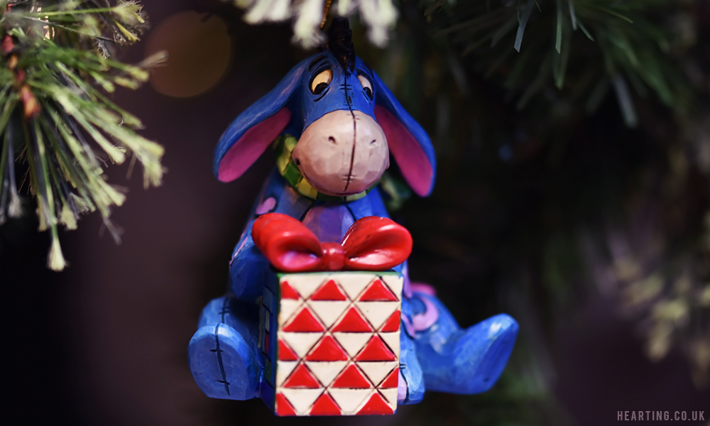 Photo Diary: Our Disney Christmas Tree | Eeyore Hanging Ornament