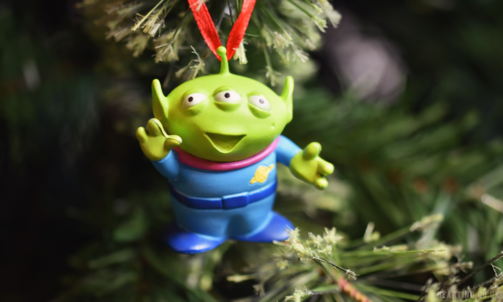 Photo Diary: Our Disney Christmas Tree | Toy Story Alien