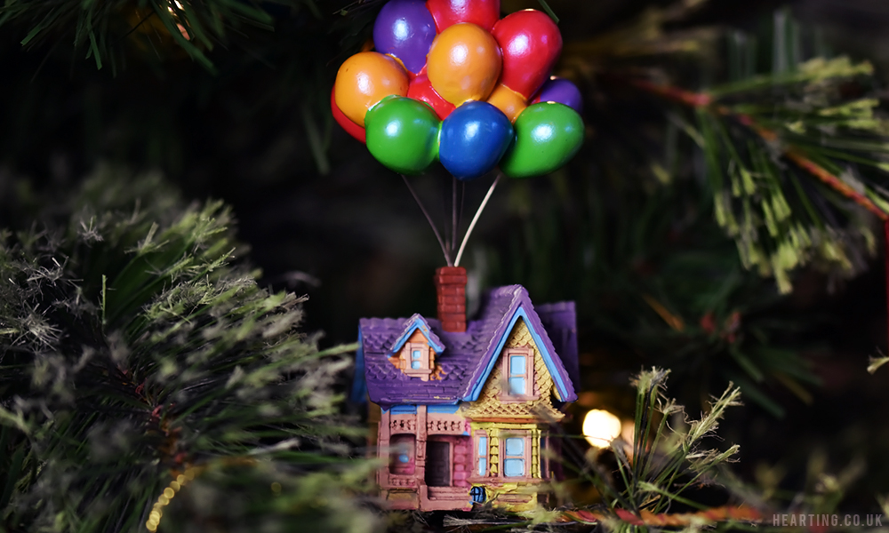 Photo Diary: Our Disney Christmas Tree | Up Hanging Ornament