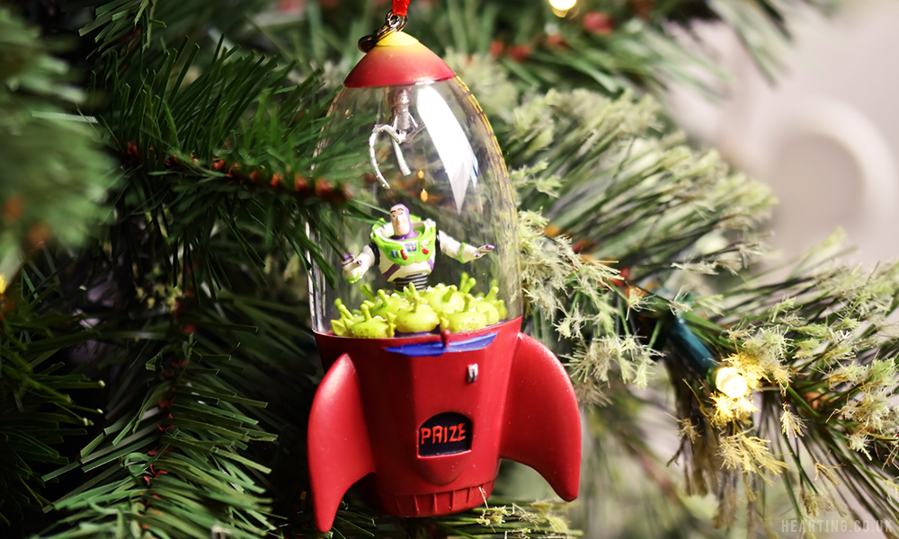 Photo Diary: Our Disney Christmas Tree | Toy Story Alien Claw Hanging Ornament