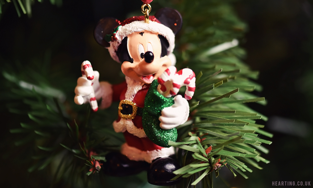Photo Diary: Our Disney Christmas Tree | Santa Mickey Hanging Ornament