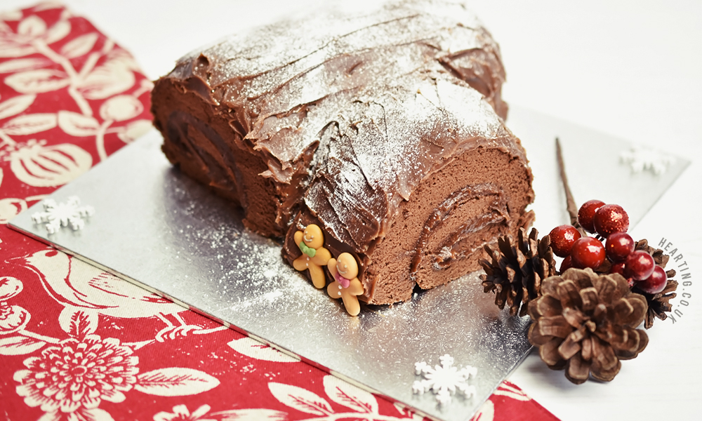 Five Things I Learnt Baking My First Yule Log