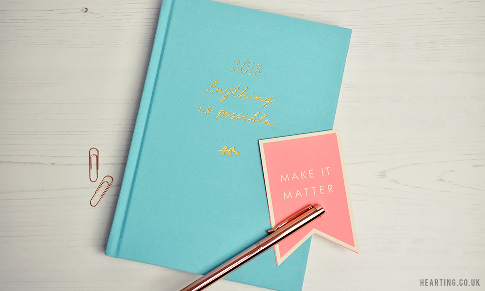 Three Diaries for 2018 | Kikki K 2018 Anything Is Possible Weekly Diary