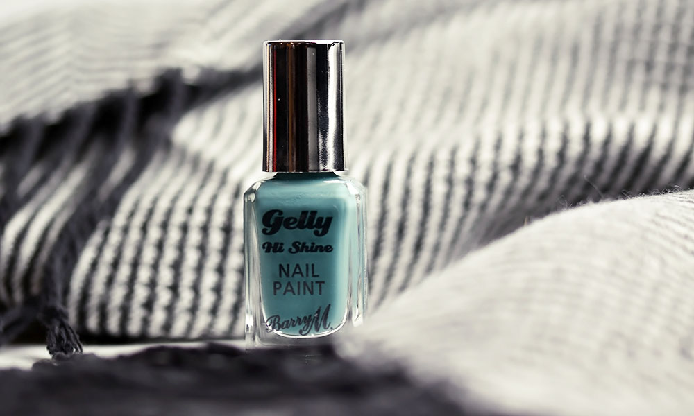 Barry M Gelly Hi Shine Spearmint Nail Paint