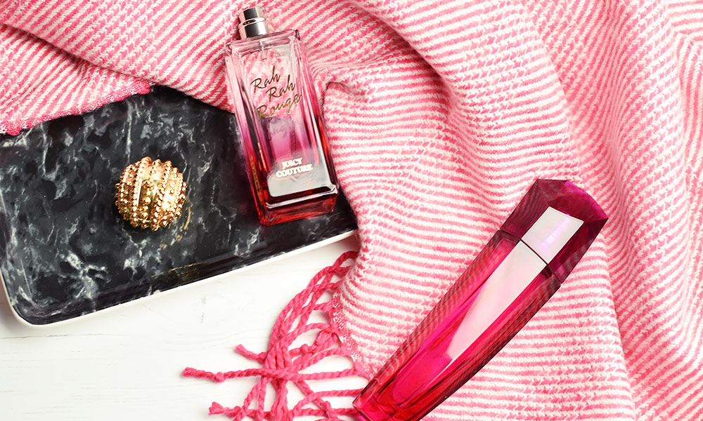 Perfumes I've Been Hearting Lately | Escada Magnetism and Juicy Couture Rah Rah Rouge