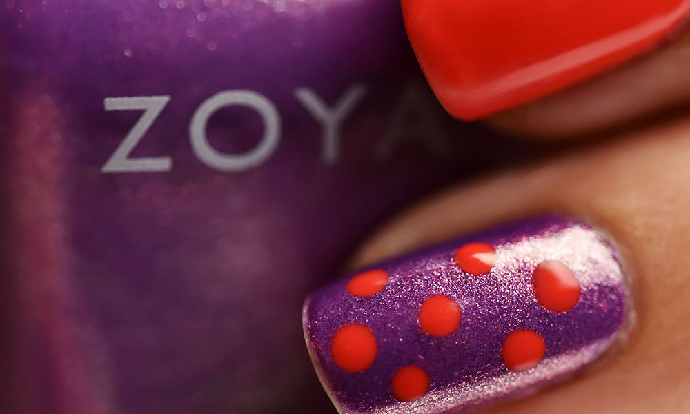 Mani and Lola October Edit #12 | Halloween Manicure Using Zoya Dannii and Morgan Taylor Sweet Escape