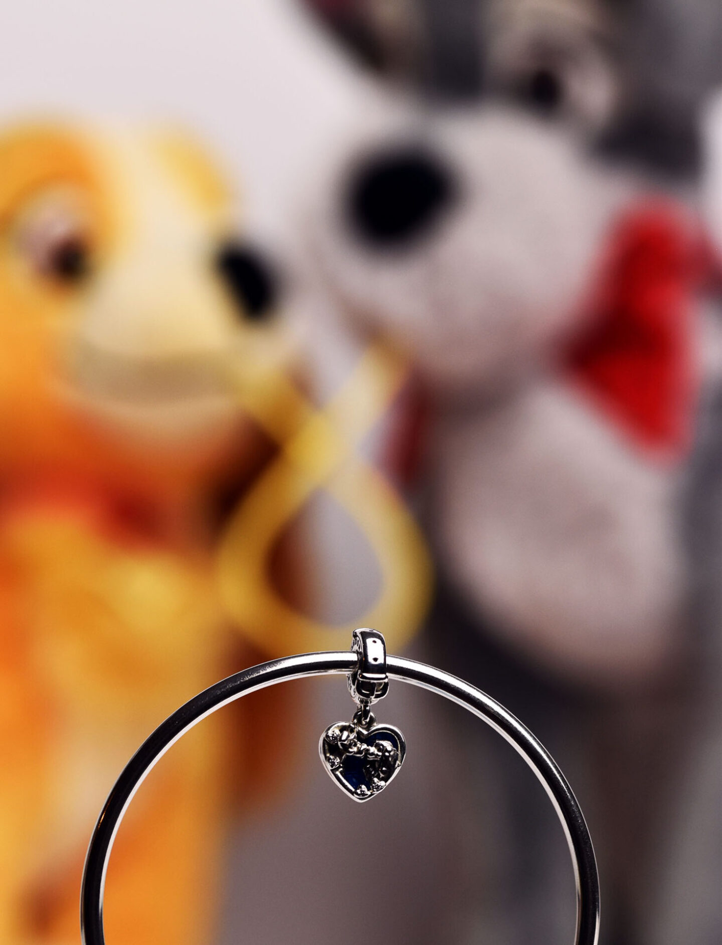A dozen year | Photograph of Pandora x Disney lady and the tramp charm